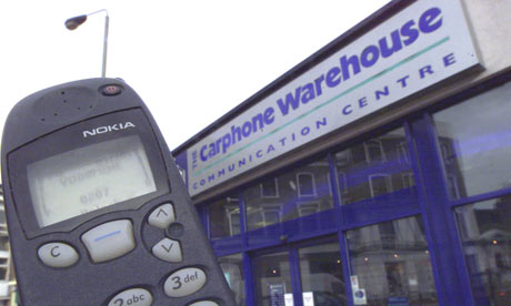 Carphone Warehouse branch