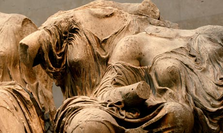 The Elgin Marbles from the Parthenon
