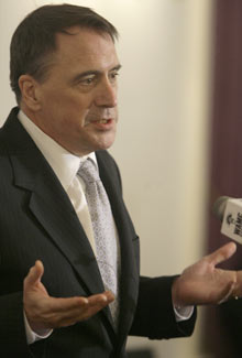 Peter Galbraith, the top American UN diplomat in Afghanistan