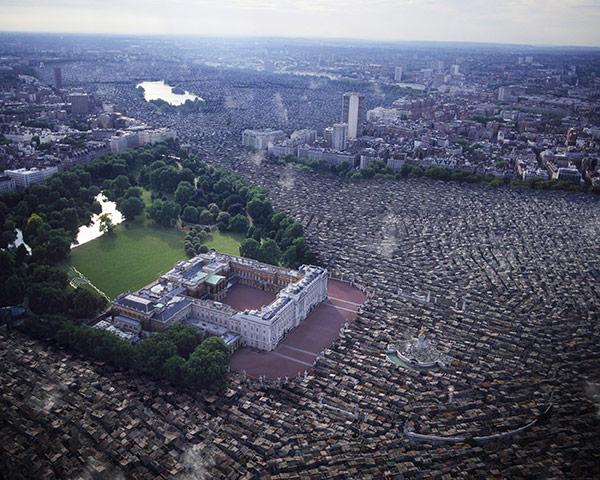 London Future images: Buckingham Palace, London