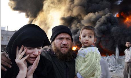 Israeli attack on Gaza, December 2008