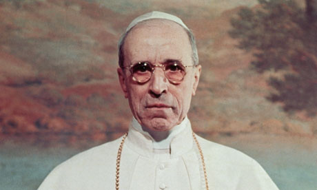 Portrait of Pope Pius XII