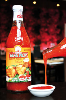 Sos Cili Manis (sweet chilli sauce)