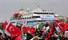Gaza flotilla Istanbul