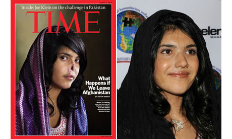Bibi Aisha, whose nose and ears were cut off by her Taliban-sympathising husband