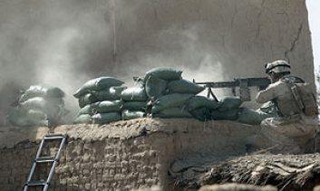US marines in Marjah, Helmand province