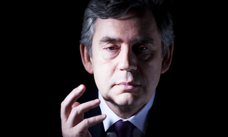 gordon brown **Guardian use only**