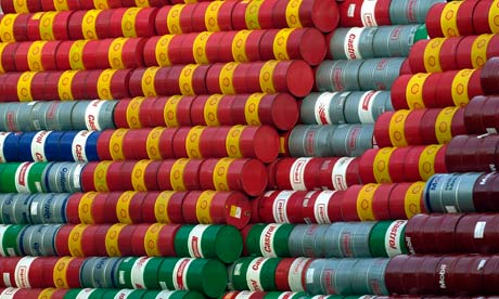 Germany - Business - Recycled Oil Barrels