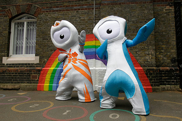 Olympic mascots: The London 2012 Olympic mascots unveiled