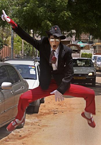Michael Jackson memorial: Munna Kesari, a Michael Jackson impersonator, dances