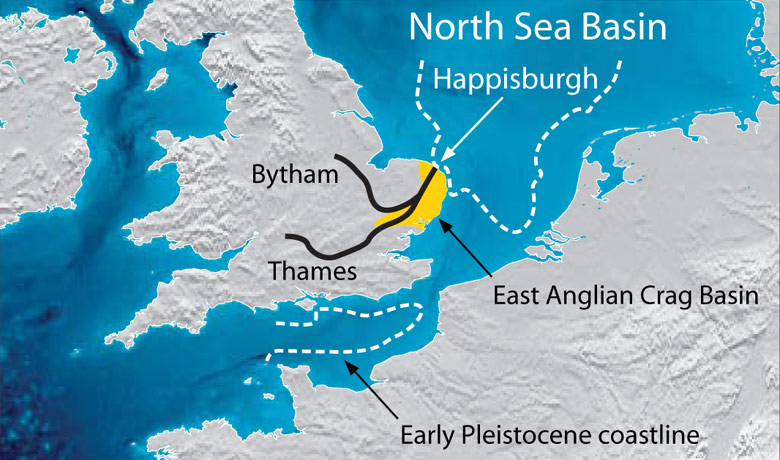 The first Britons: Reconstruction of the palaeogeography of northwest Europe