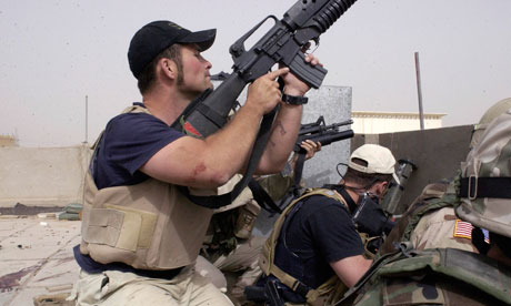 Blackwater contractors, Iraq