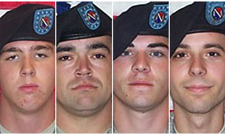 Stryker soldiers who allegedly plotted to kill Afghan civilians.