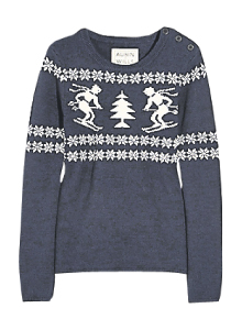 christmas jumper ironic irony guardian fashion style imogen fox gemma critchley fashion blogger beatifnik