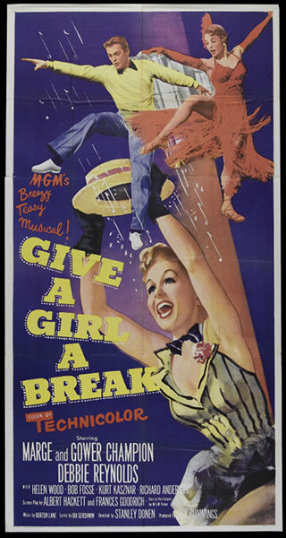 Film Poster Exhibition: Give a Girl a Break poster