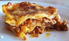 Silver Spoon recipe lasagne