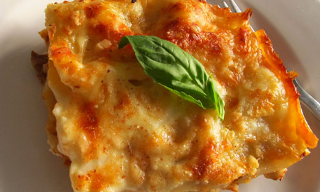 Felicity's perfect lasagne