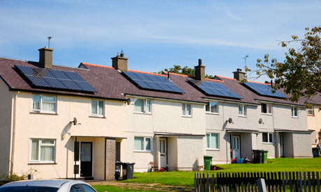 solar panels Anglesey