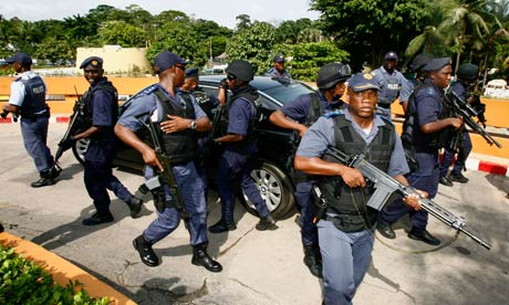 Police violence in South Africa