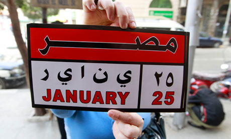 January 25 Revolution in Egypt
