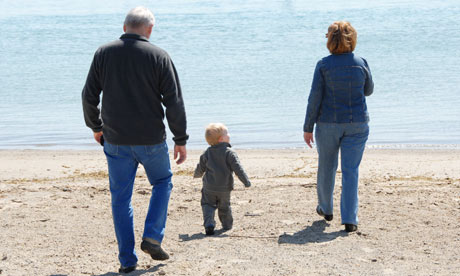 Grandparents included in divorce arrangements