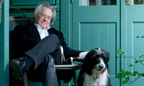 AC Grayling with his dog Misty.