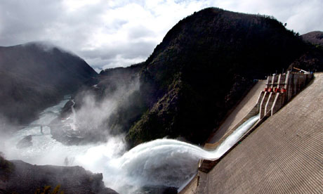 chile dam hydroelectric power