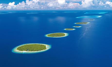 Under threat: Baa Atoll, Maldives.