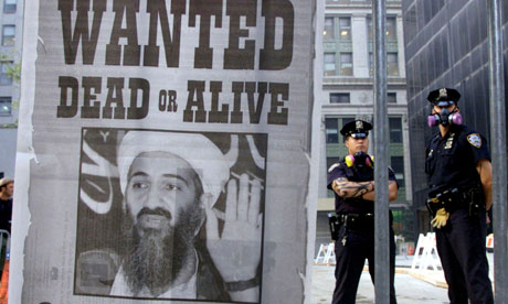 Bin Laden wanted poster