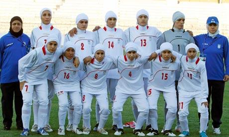 iran women football team