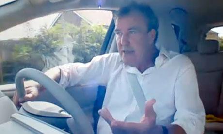 Jeremy Clarkson test drives the Tesla electric car