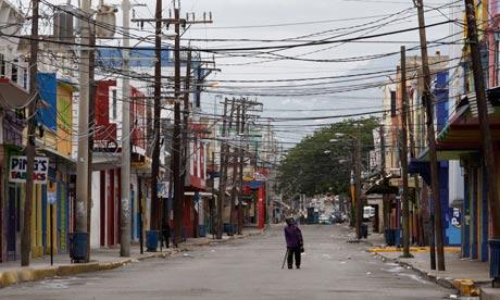 Street in Kingston, Jamaica