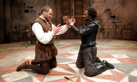 Image result for act 3 scene 3 othello kneels