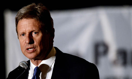 Former New Mexico Governor and Republican presidential primary runner Gary Johnson