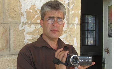 Balil Tamimi, resident of Nabi Saleh, West Bank