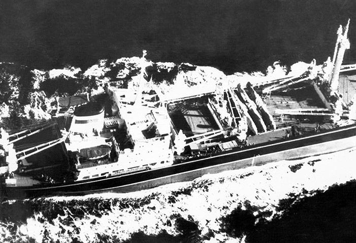 Cuban missile crisis : Aerial picture taken December 4 1962, Cuba