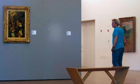Rotterdam art heist - empty wall