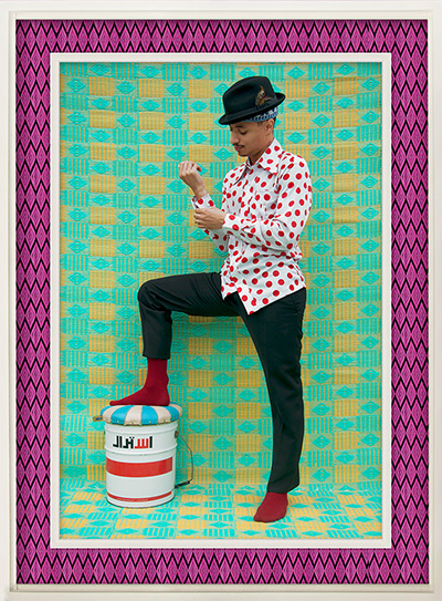 Hassan Hajjaj portraits: Junior James