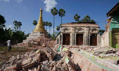 Burma earthquake