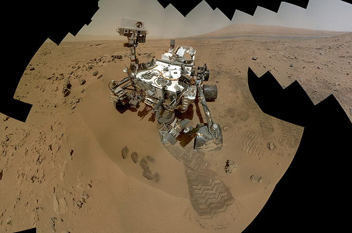 2012 in Science: Curiosity Self-Portrait