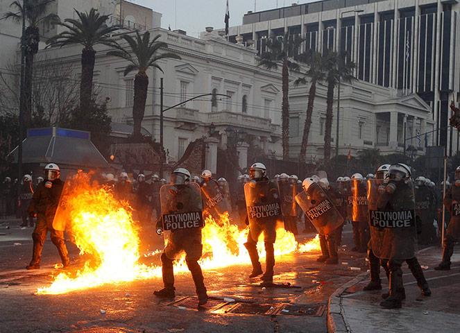 anti austerity greece
