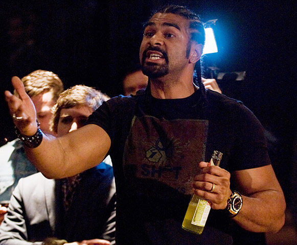 Chisora and Haye brawl: Haye v Chisora gallery 1