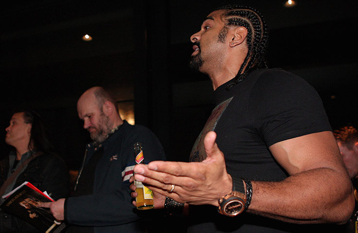 Chisora and Haye brawl: Haye v Chisora gallery 2