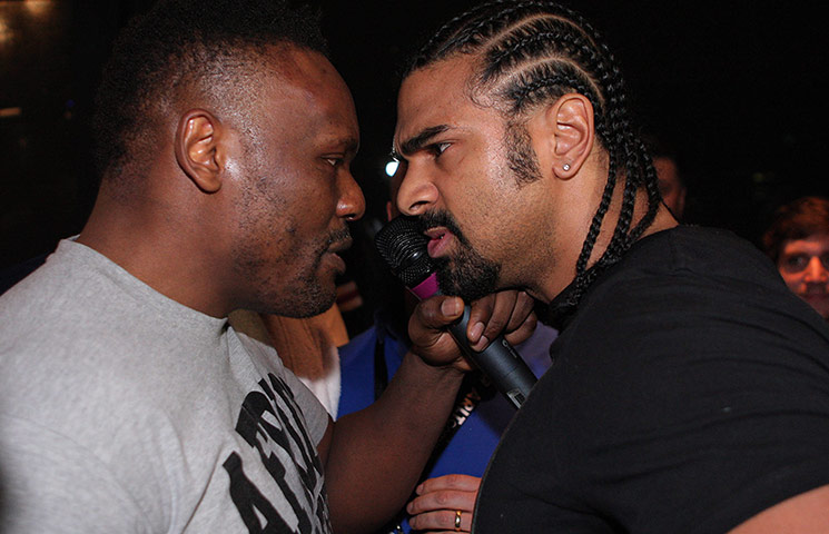Chisora and Haye brawl: Haye v Chisora gallery 3