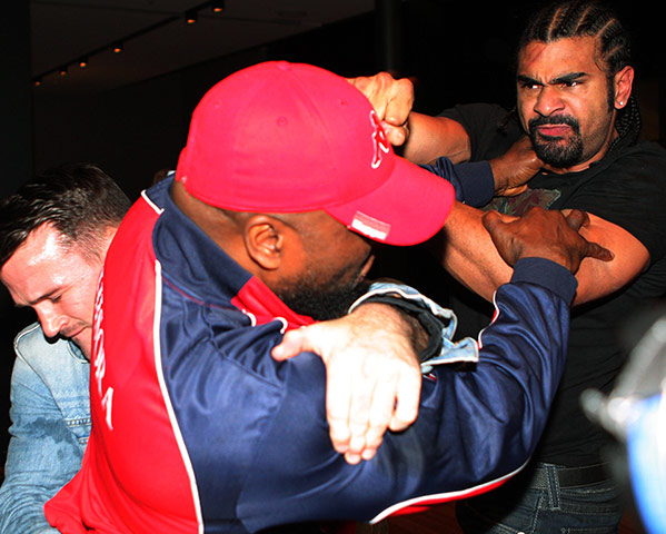 Chisora and Haye brawl: Haye v Chisora gallery 5