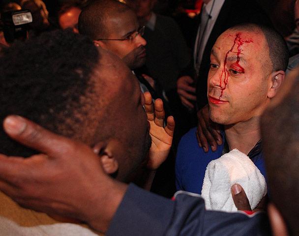Chisora and Haye brawl: Haye v Chisora gallery 6