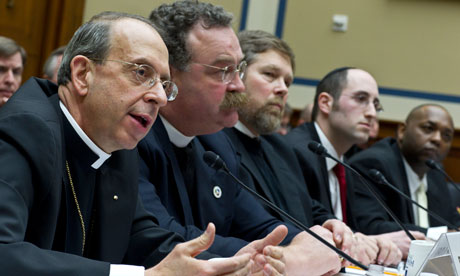 Religious figures testify on Capitol Hill on new rules on employee insurance and contraception
