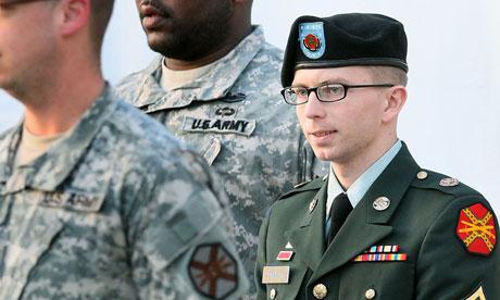 Bradley Manning at Fort Meade, Maryland