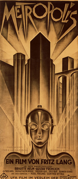 Top Selling Film Posters: Top Selling Film Posters - Metropolis (German Poster), 1927
