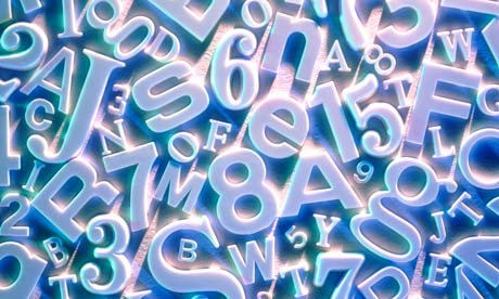 Scattered Letters and Numbers